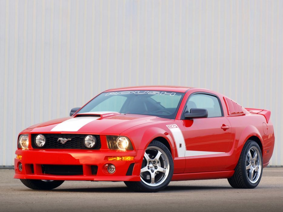 2009 Roush Ford Mustang 427R muscle tuning hot rod rods    g wallpaper