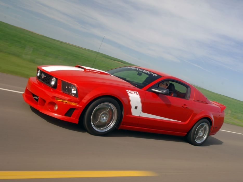 2009 Roush Ford Mustang 427R muscle tuning hot rod rods   hs wallpaper