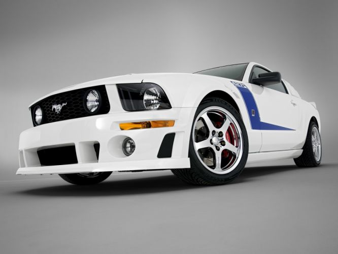 2009 Roush Ford Mustang 427R muscle tuning hot rod rods r wallpaper