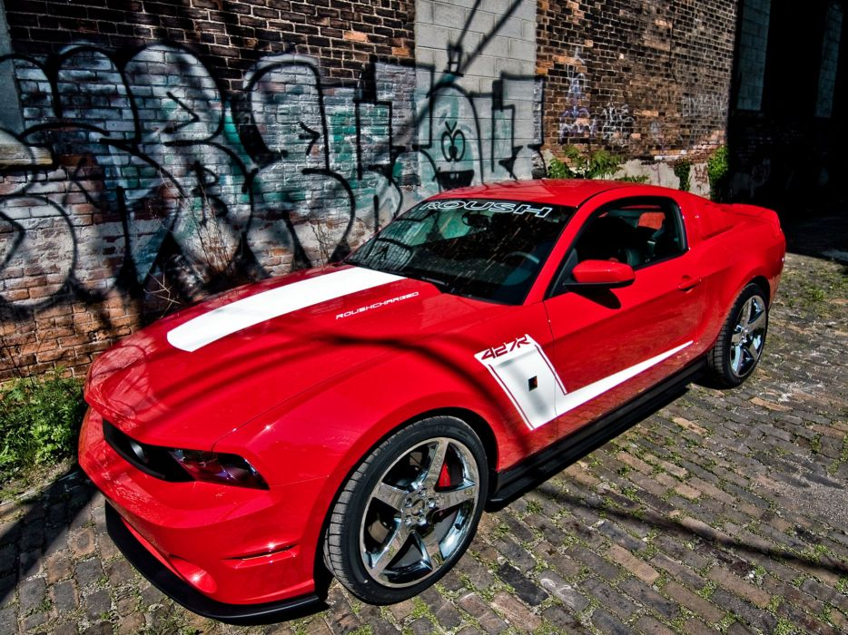 2010 Roush Ford Mustang 427R muscle   h wallpaper