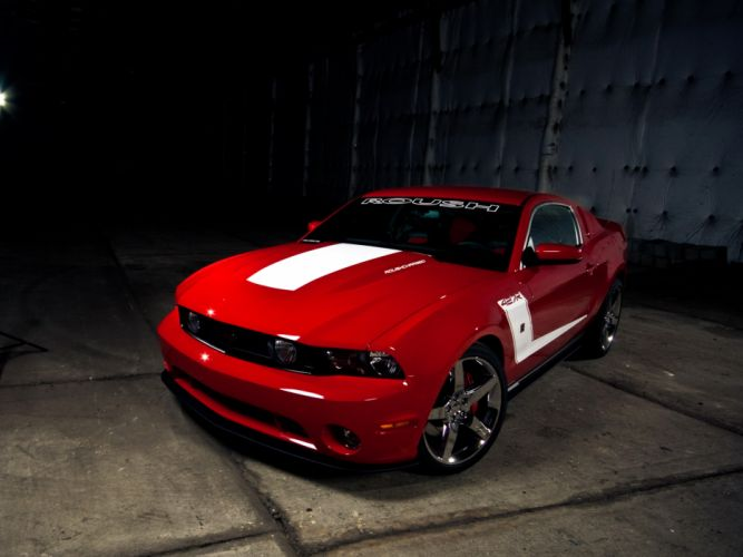 2010 Roush Ford Mustang 427R muscle tq wallpaper
