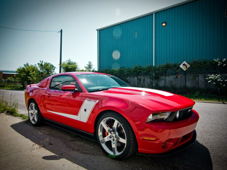 2010 Roush Ford Mustang 427R muscle     hs wallpaper