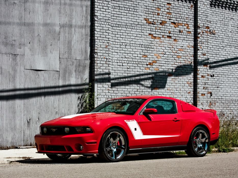 2010 Roush Ford Mustang 427R muscle     g wallpaper