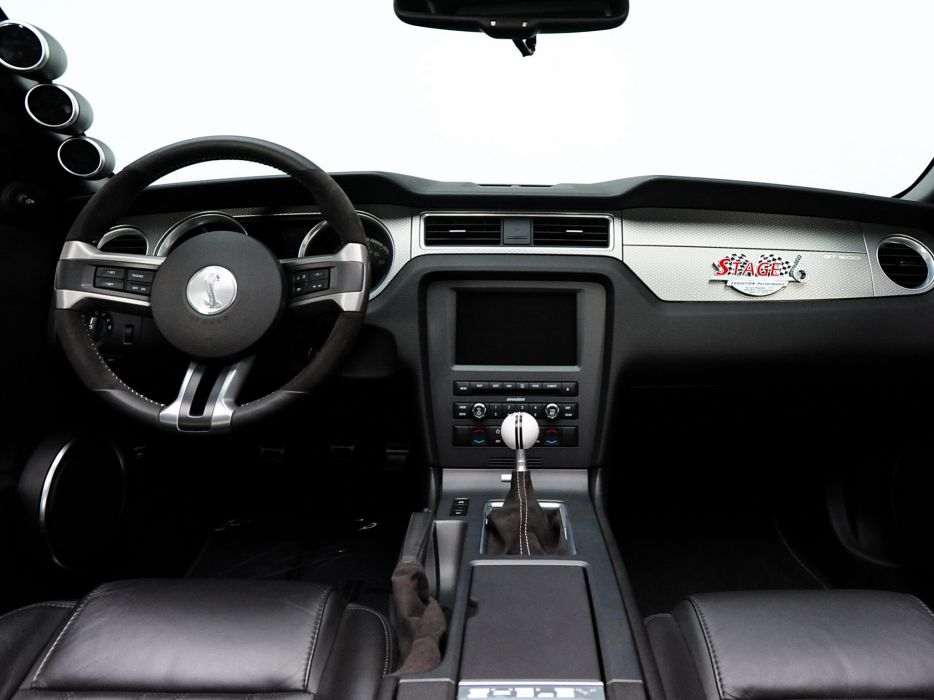 2010 Shelby GT500 Evolution-Performance Stage-6 ford mustang muscle tuning interior     h wallpaper