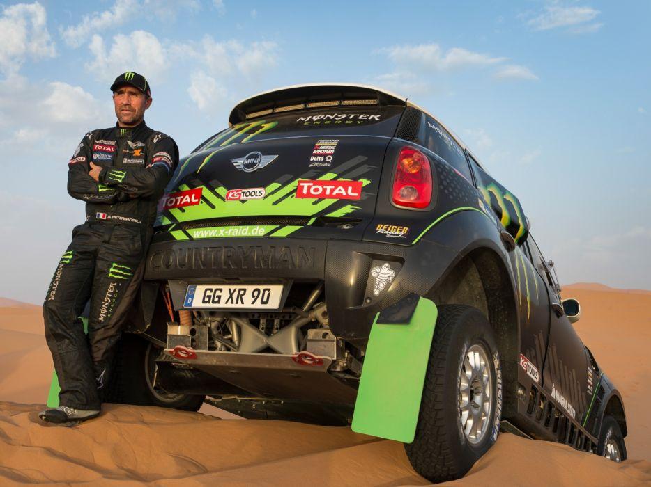 2011 Mini All4 Racing R60 race racing off offroad         g wallpaper