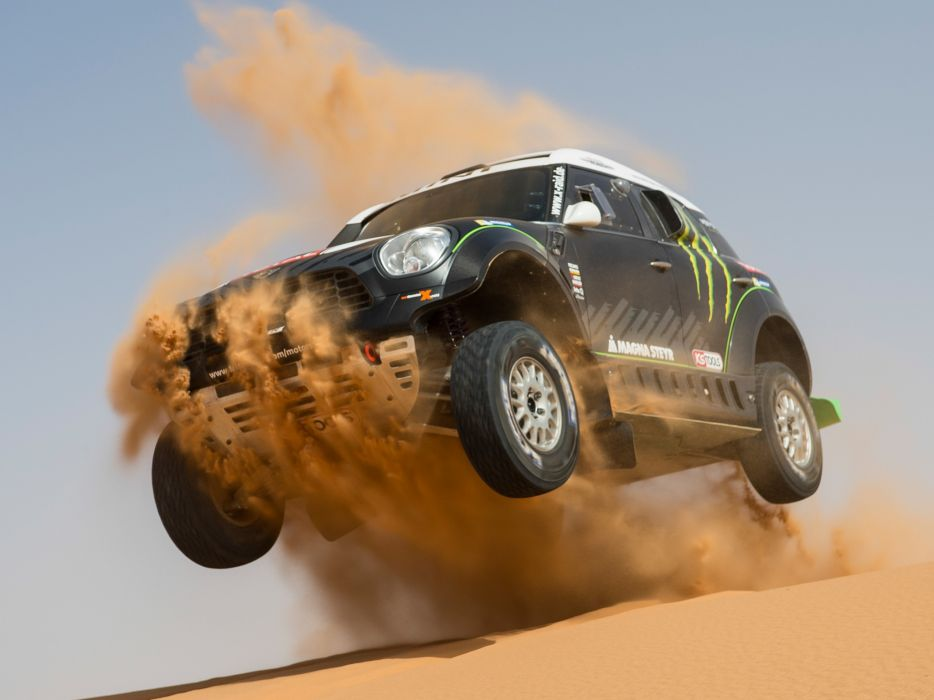 2011 Mini All4 Racing R60 race racing off offroad    f wallpaper