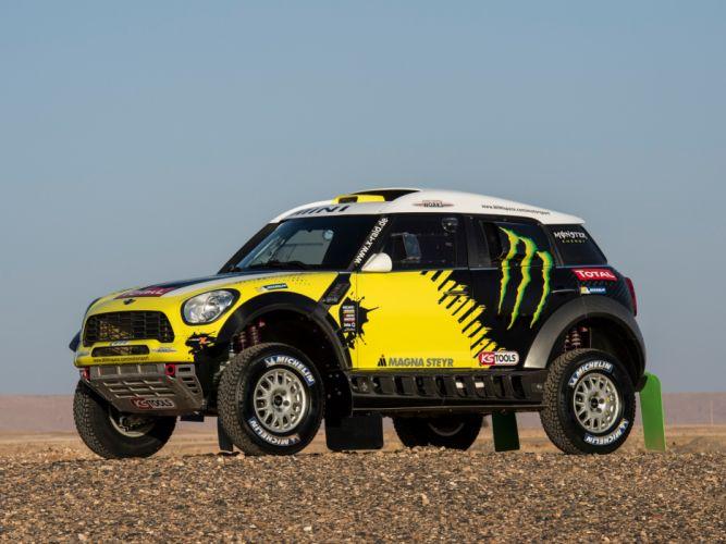2011 Mini All4 Racing R60 race racing off offroad fe wallpaper