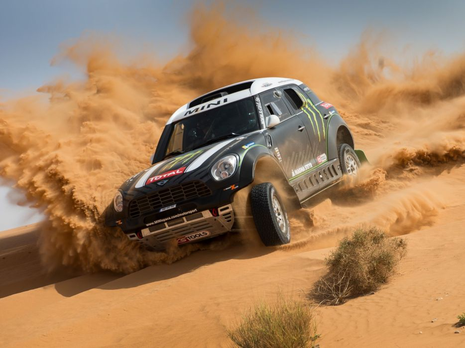 2011 Mini All4 Racing R60 race racing off offroad   f wallpaper