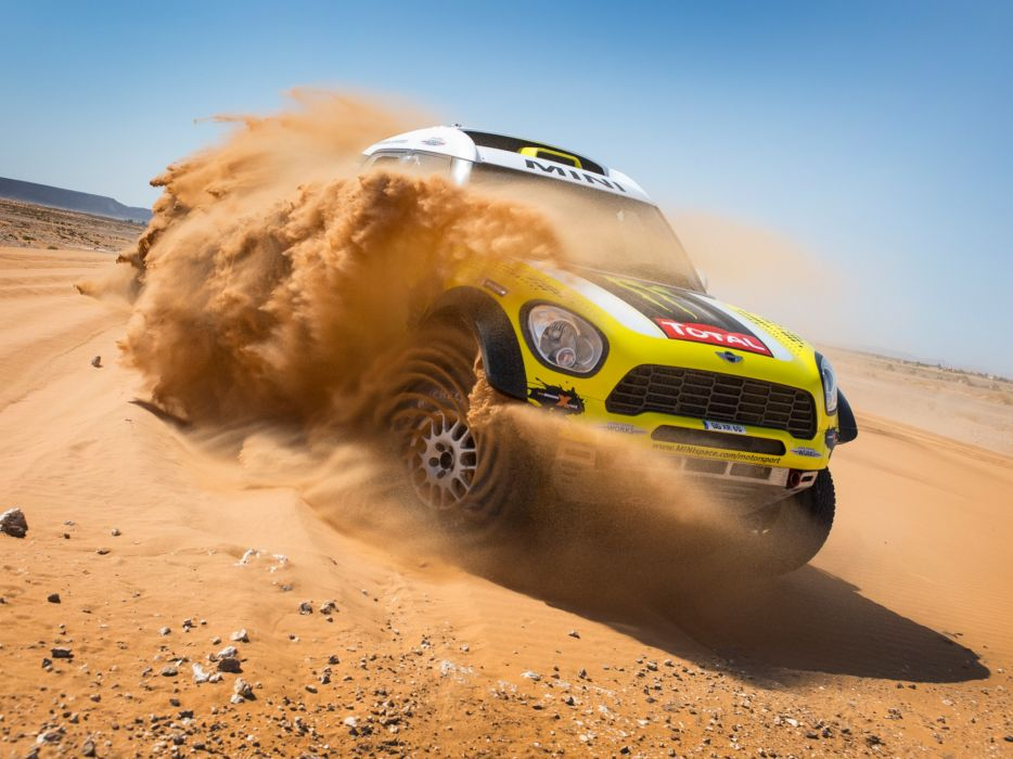 2011 Mini All4 Racing R60 race racing off offroad   r wallpaper