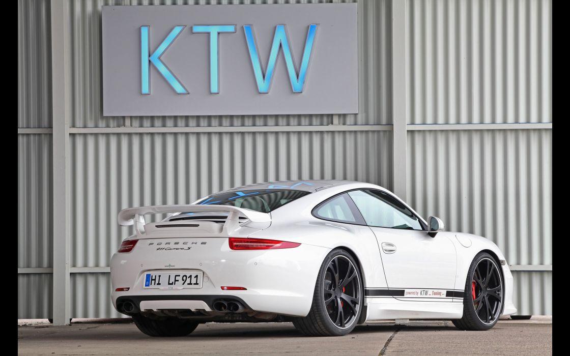 2013 KTW-Tuning Porsche 991 Carrera S Carrera-S     f wallpaper