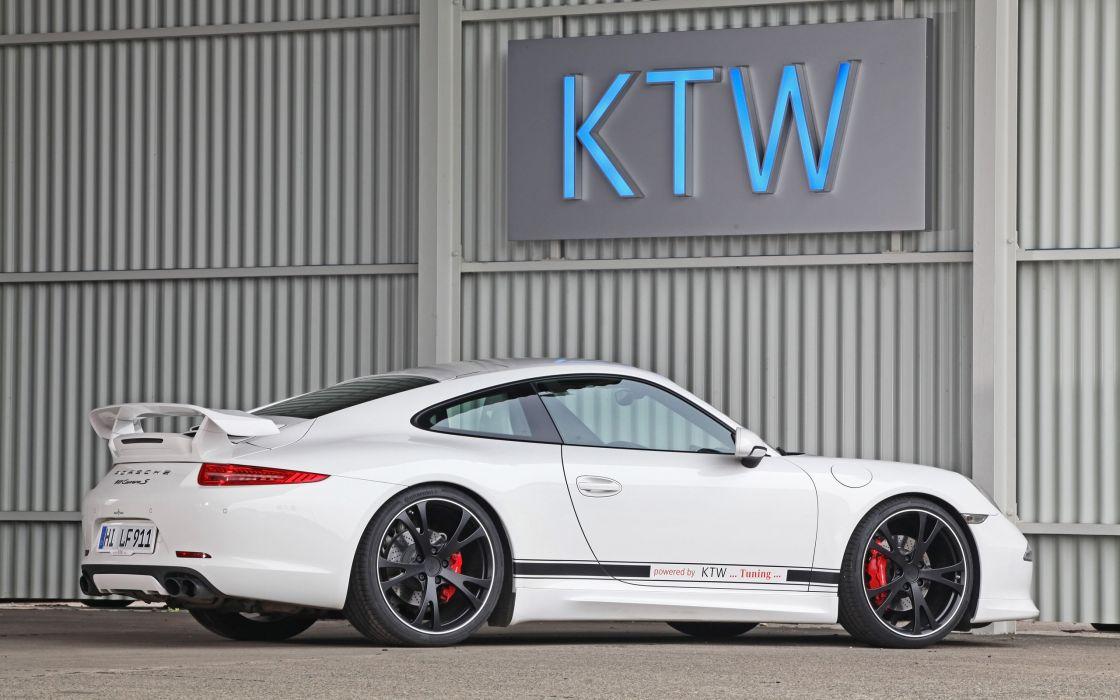 2013 KTW-Tuning Porsche 991 Carrera S Carrera-S 911     f wallpaper