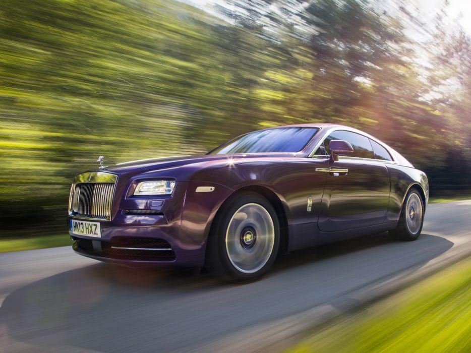 2013 Rolls Royce Wraith luxury supercar    g wallpaper