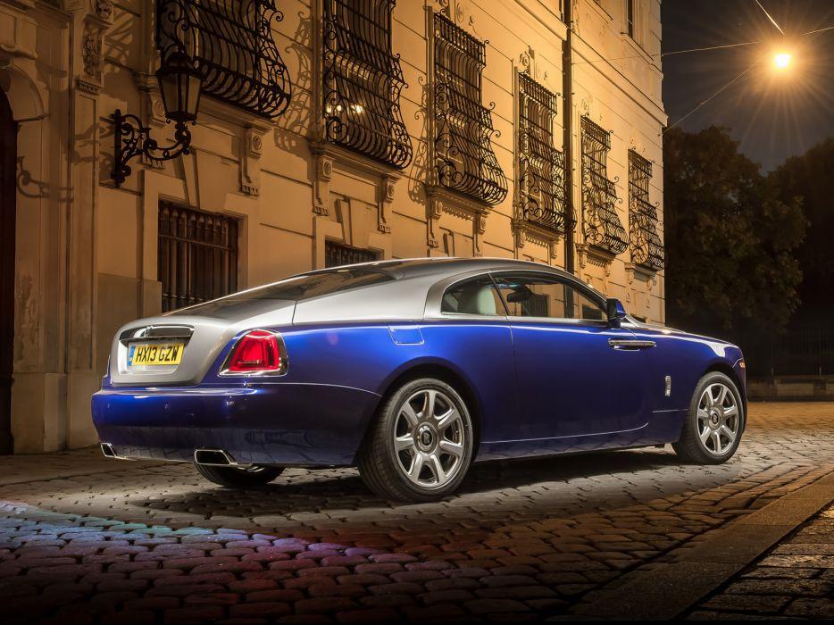 2013 Rolls Royce Wraith luxury supercar   f wallpaper