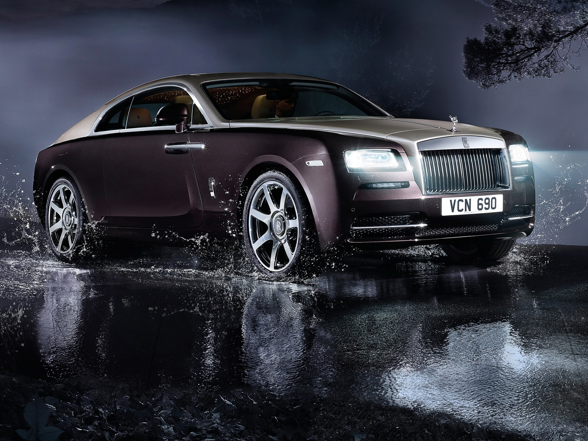 2013 Rolls Royce Wraith luxury supercar re wallpaper | 2048x1536