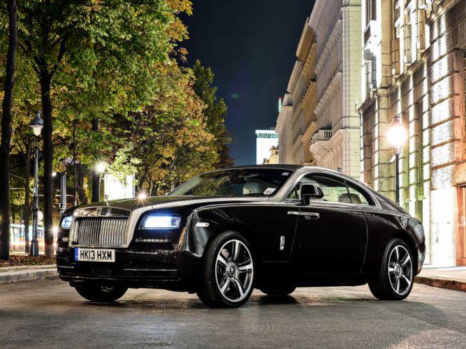 2013 Rolls Royce Wraith luxury supercar t wallpaper