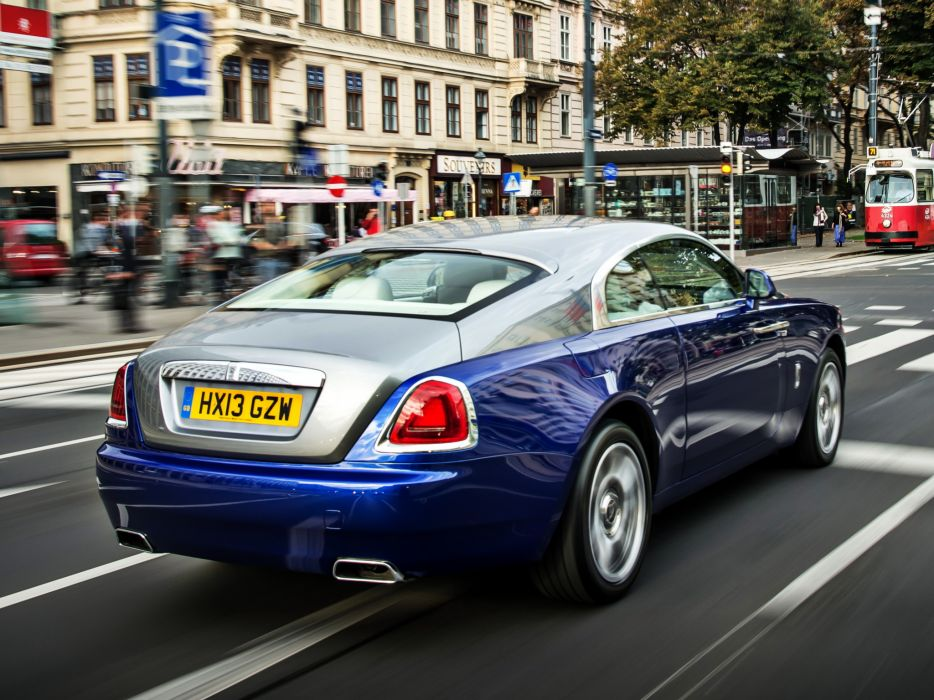 2013 Rolls Royce Wraith luxury supercar   rh wallpaper