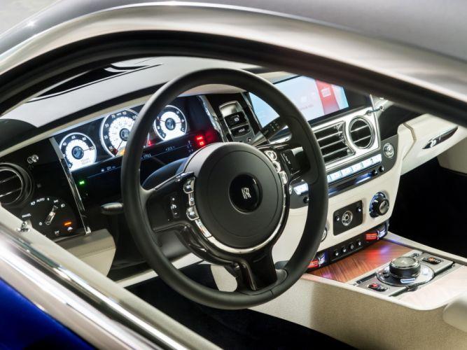 2013 Rolls Royce Wraith luxury supercar interior t wallpaper