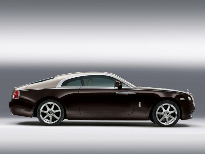 2013 Rolls Royce Wraith luxury supercar rn wallpaper
