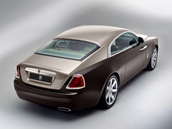 2013 Rolls Royce Wraith luxury supercar rw wallpaper