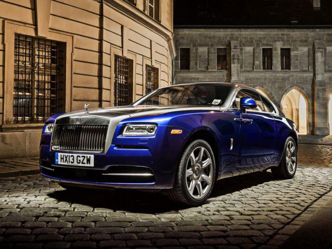 2013 Rolls Royce Wraith luxury supercar r wallpaper
