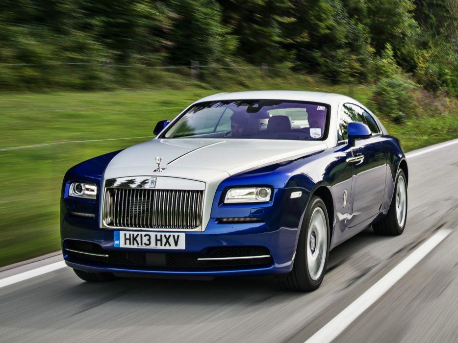 2013 Rolls Royce Wraith Luxury Supercar Rq Wallpaper