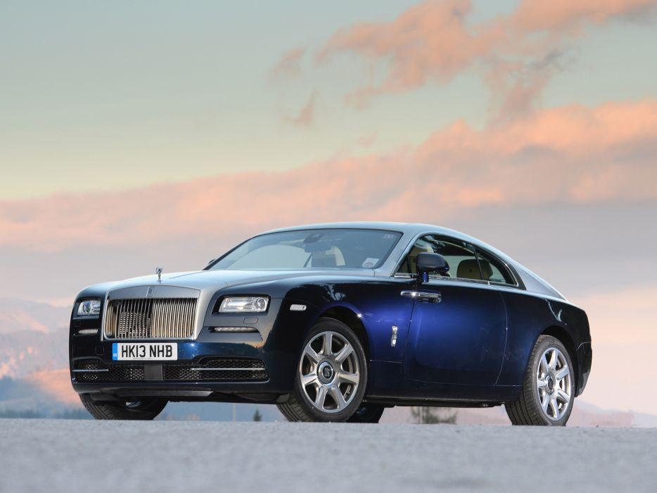 2013 Rolls Royce Wraith luxury supercar  rw wallpaper