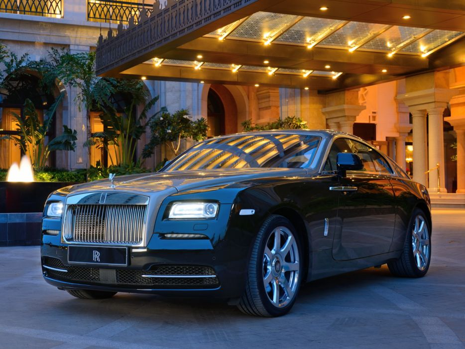 2013 Rolls Royce Wraith luxury supercar  h wallpaper