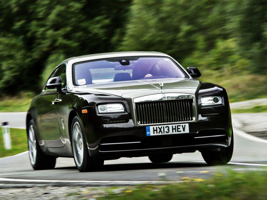 2013 Rolls Royce Wraith luxury supercar  rg wallpaper