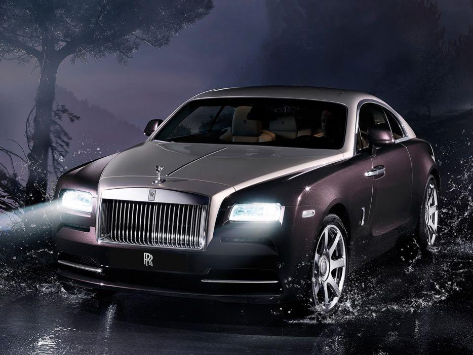 2013 Rolls Royce Wraith luxury supercar e wallpaper