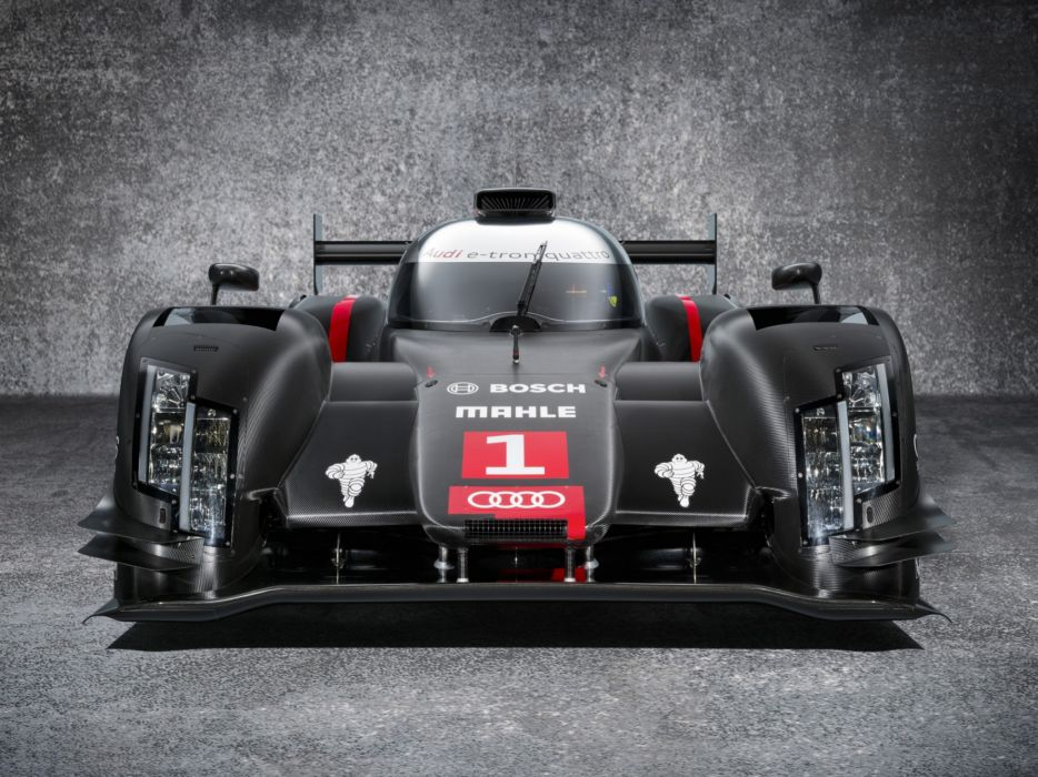 2014 Audi R18 e-Tron quattro le-mans prototype race racing     f wallpaper