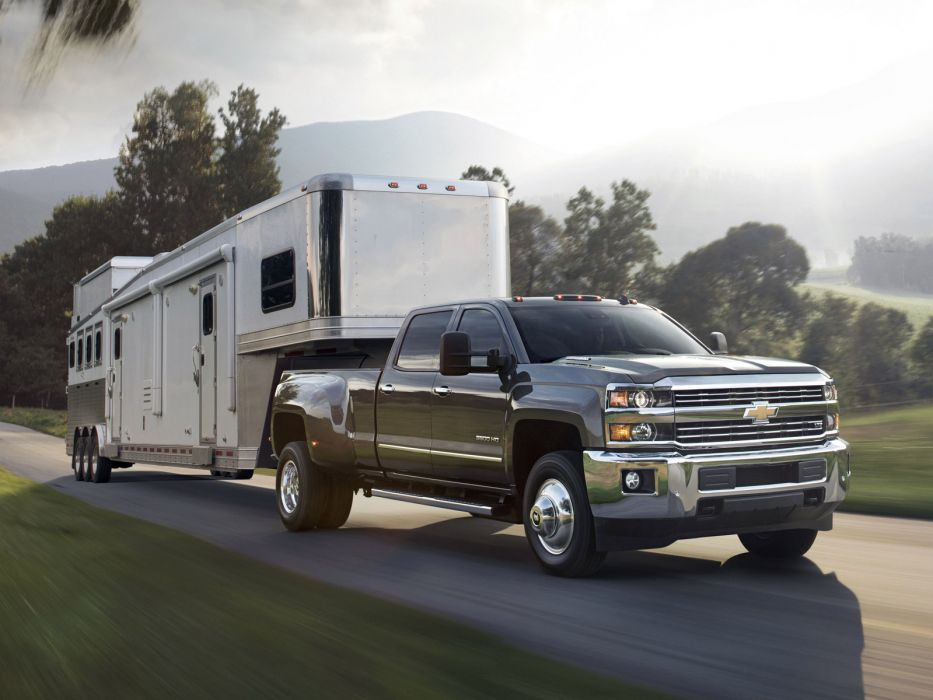 2014 Chevrolet Silverado 3500 H-D CrewCab pickup          f wallpaper