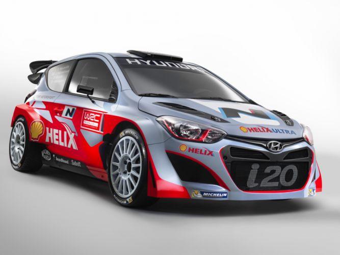 2014 Hyundai i20 WRC race racing tuning d wallpaper