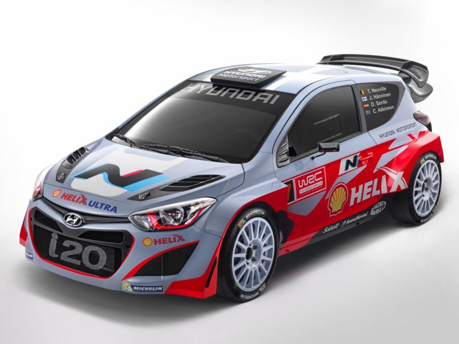 2014 Hyundai i20 WRC race racing tuning   f wallpaper