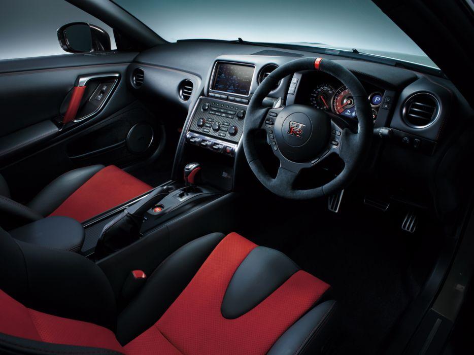 2014 Nismo Nissan GTR (R35) Supercar Interior F Wallpaper