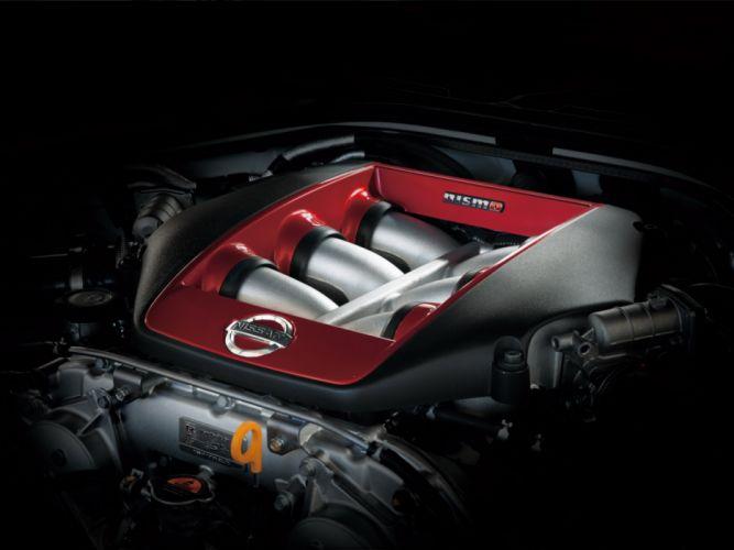 2014 Nismo Nissan GTR (R35) supercar engine g wallpaper