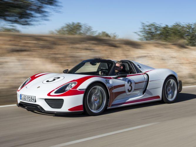 2014 Porsche 918 Spyder Weissach race racing supercar g wallpaper