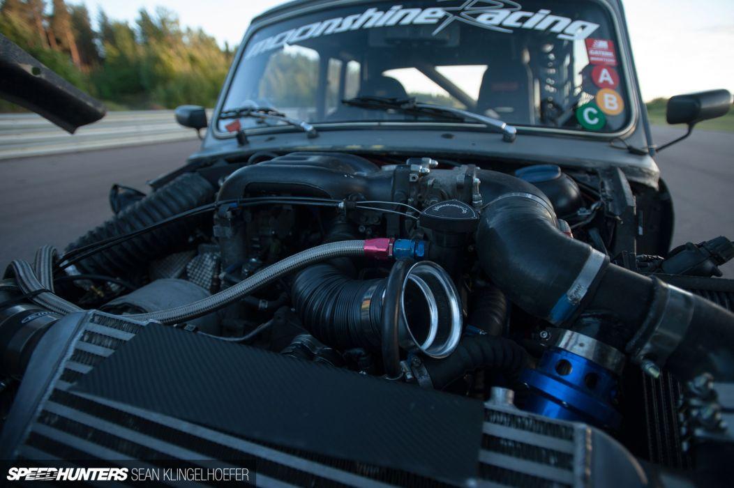 Mini Cooper tuning race racing engine      h wallpaper