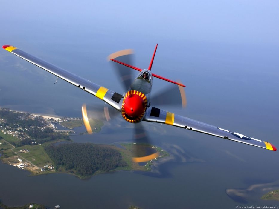 planes P-51 Mustang wallpaper
