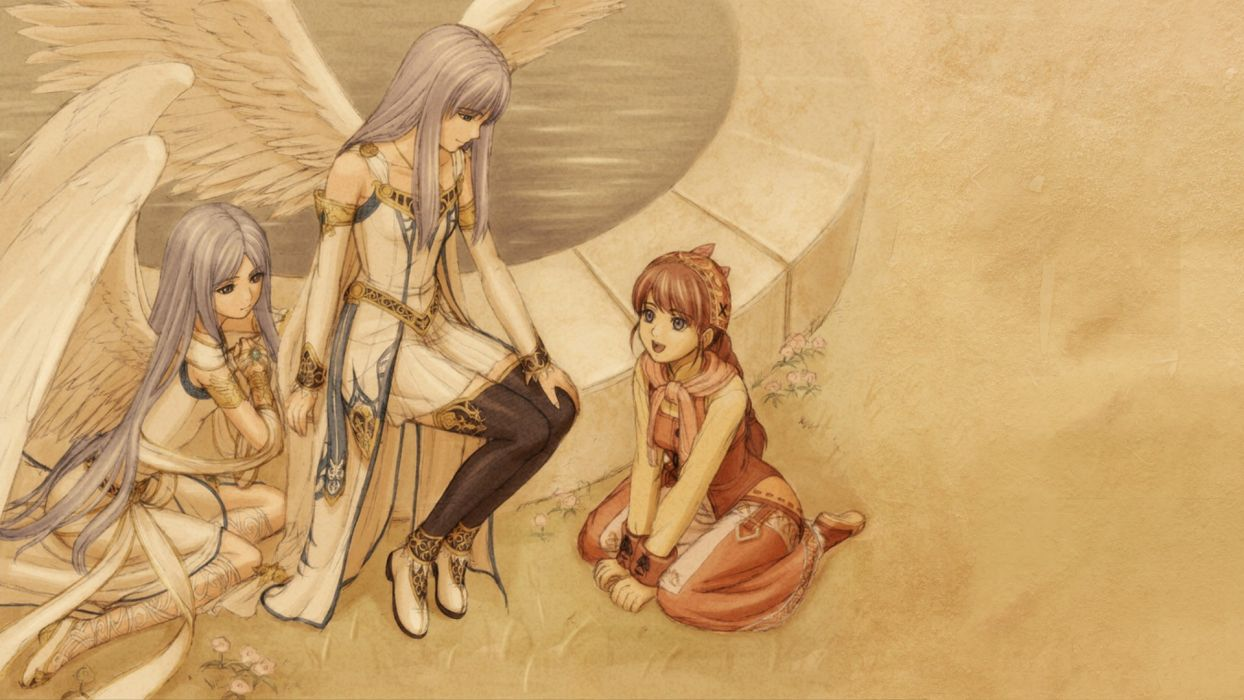 angels Japan Ys Origin anime wallpaper