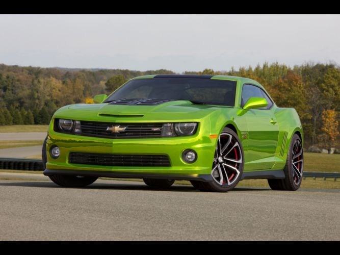 muscle cars concept art Chevrolet Camaro wheels wallpaper