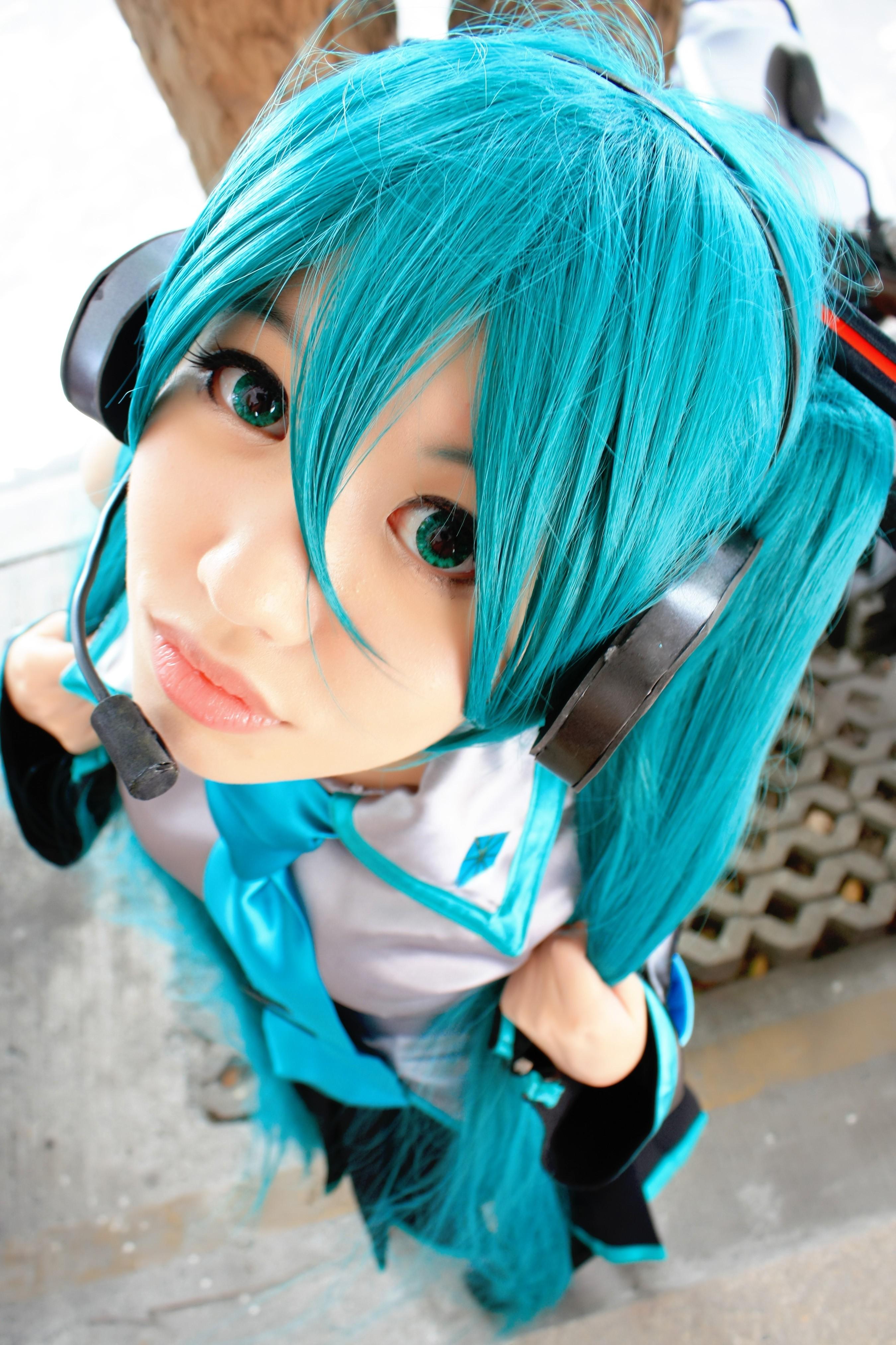 hatsune miku cosplay - photo #41