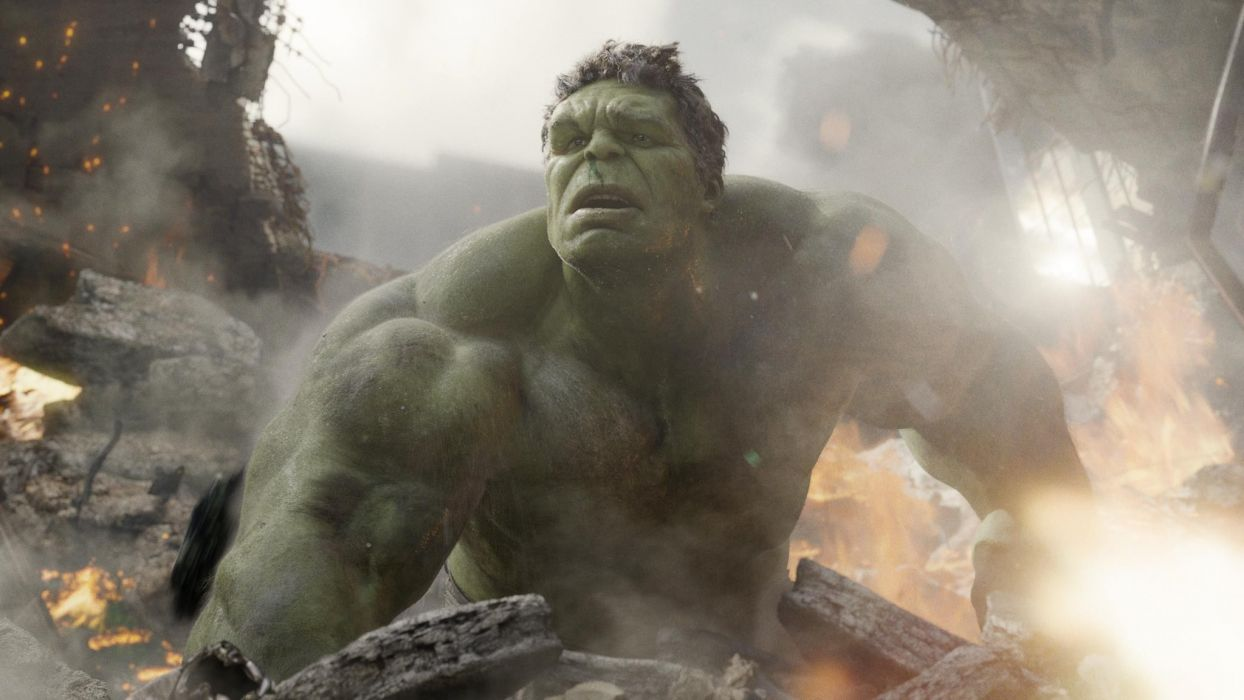 Hulk (comic character) artwork Mark Ruffalo The Avengers (movie) wallpaper