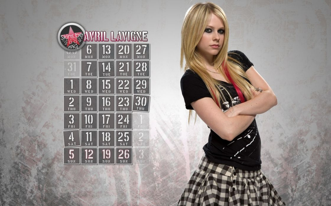 Avril Lavigne singers wallpaper