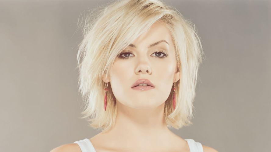blondes women Elisha Cuthbert actress models artwork faces wallpaper