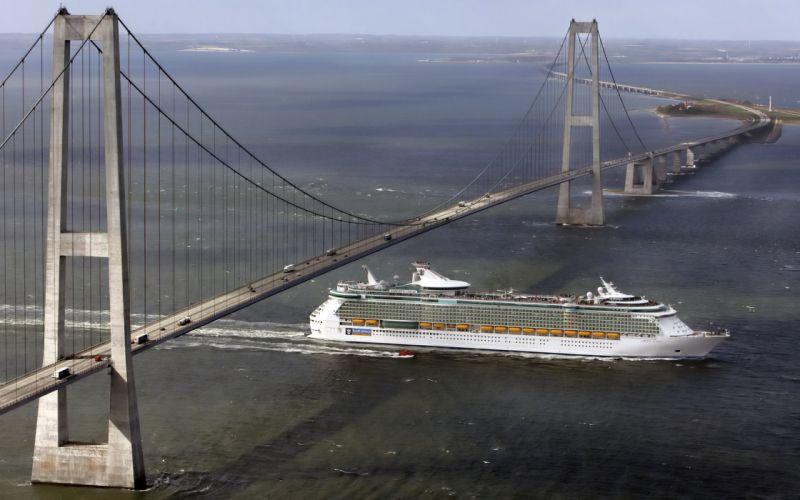 ships bridges vehicles cruise ship wallpaper