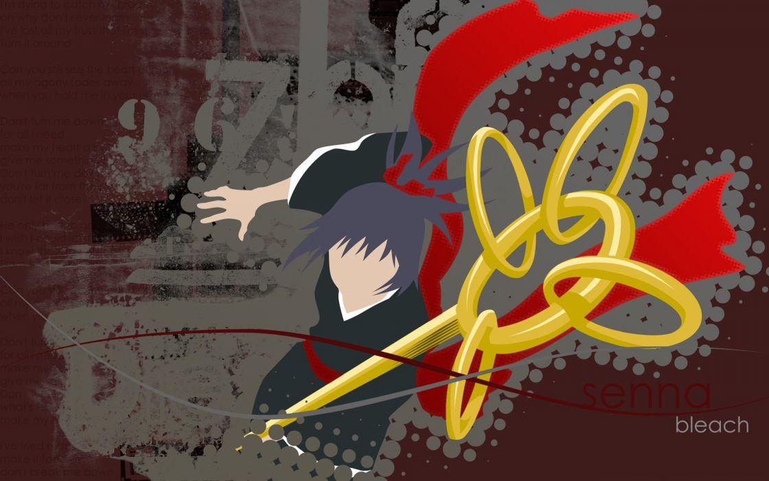 Bleach numbers anime vector art Senna wallpaper