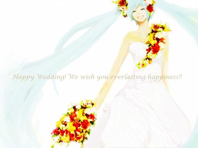 Vocaloid dress Hatsune Miku wallpaper