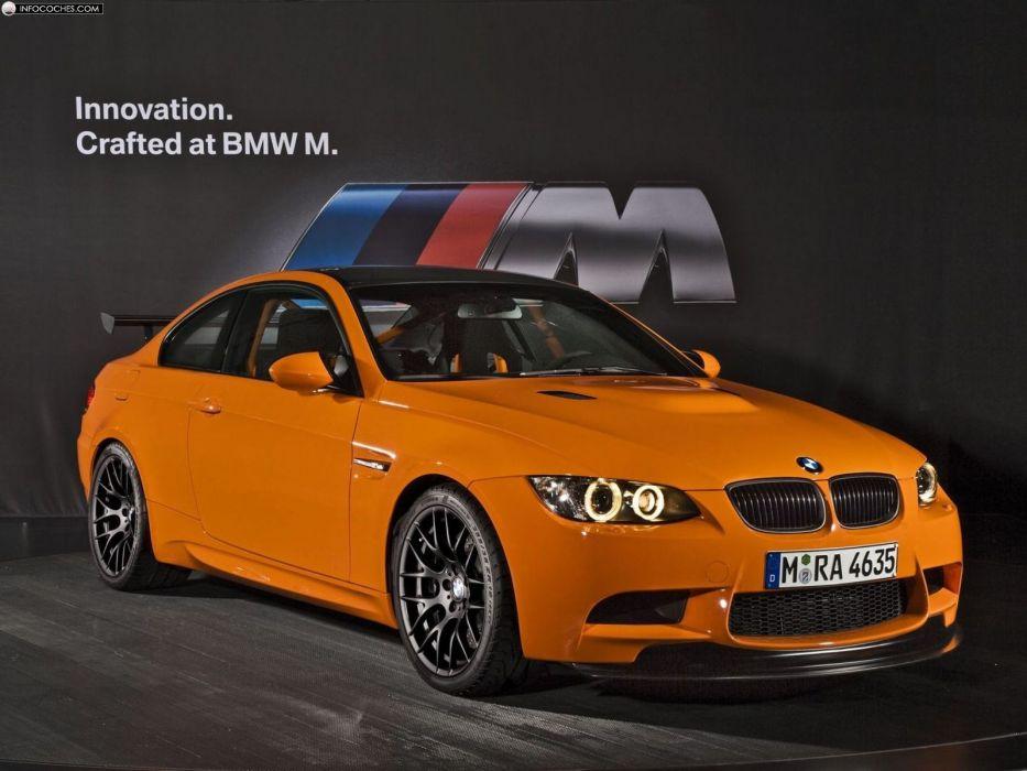 BMW cars vehicles BMW M3 sports cars orange cars wallpaper