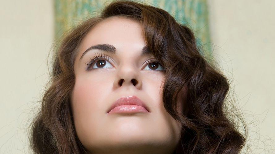 brunettes models Astrud A wallpaper