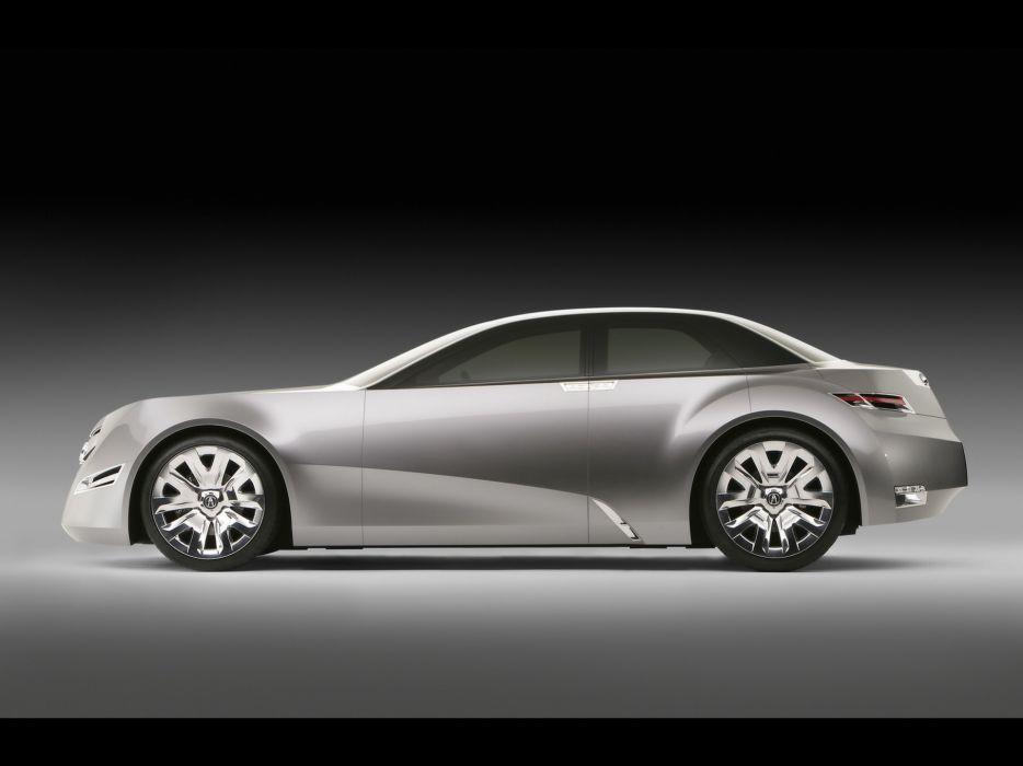 cars concept art concept cars Acura Advanced Sedan wallpaper